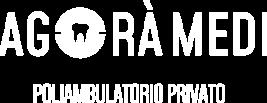 Agorà Medi | Logo bianco